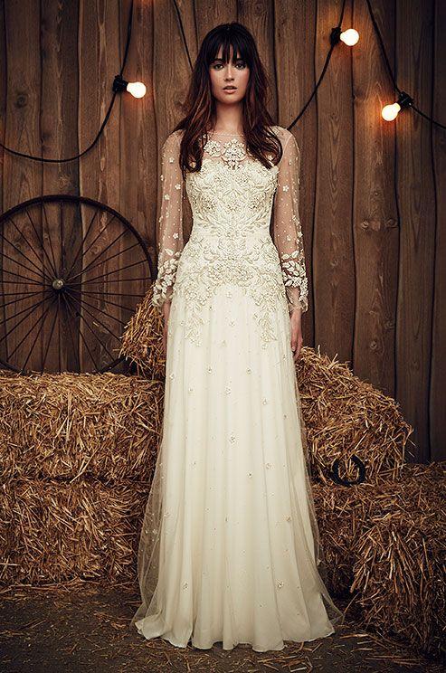 486 best long sleeved wedding dresses images on pinterest | sleeved