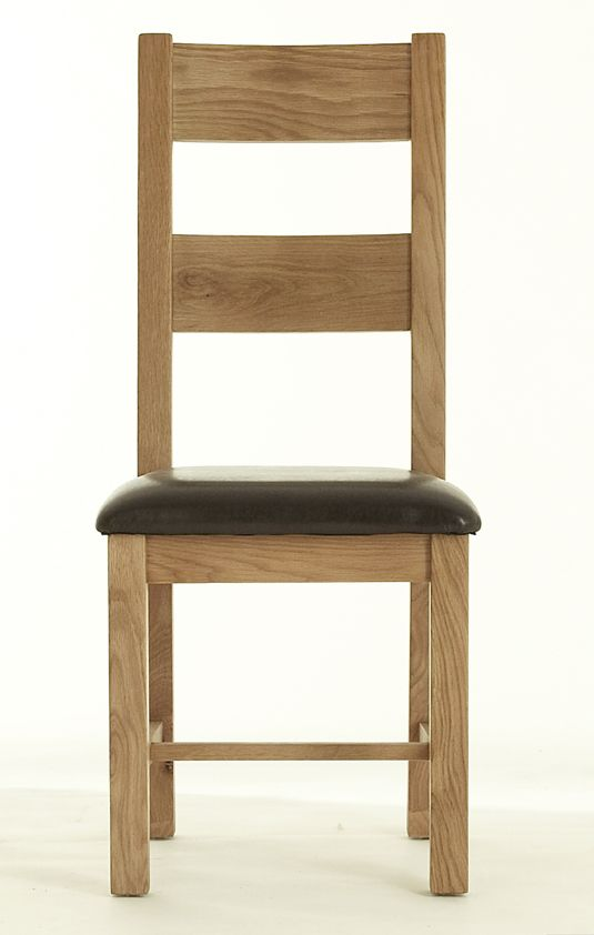 atlas chunky oak hidden home. chunky oak chair pu atlas hidden home