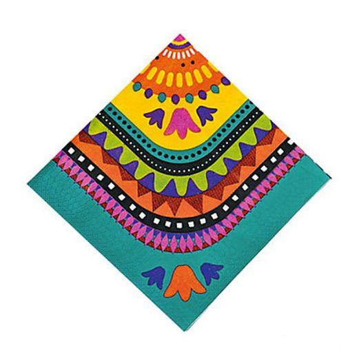 Cinco de Mayo Table Accessories Fiesta Beverage Napkins Image