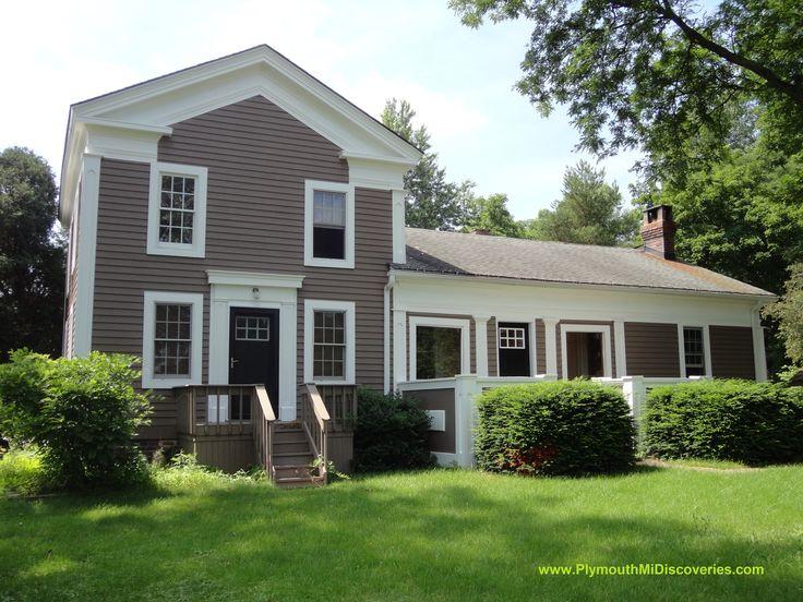 46645 W. Ann Arbor Trail Greek revival home, New england