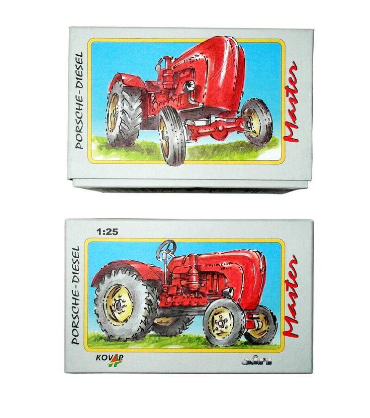 Porsche master tractor box