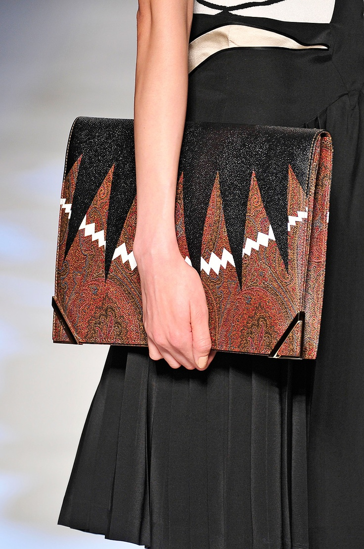 EtroEtro Spring, Bags 2012, Women Accessories, Awesome Handbags, Amazing Clutches, Spring 2012, 2012 Rtw, Art Etro, Accessories Watches