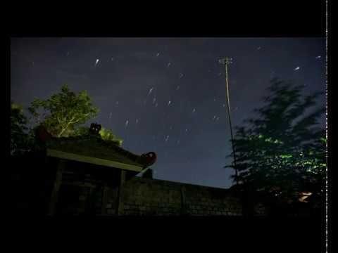 Star Trail Turen Malang