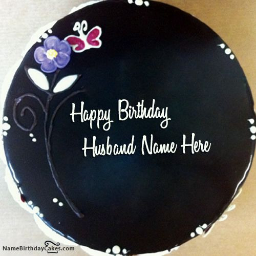 Birthday Cake Pictures For A Husband : 14 best images about Name Birthday Cakes For Husband on ...