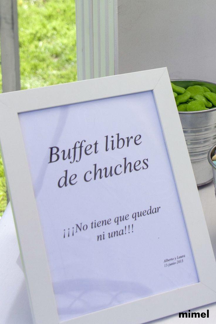 mesa de chuches,boda L