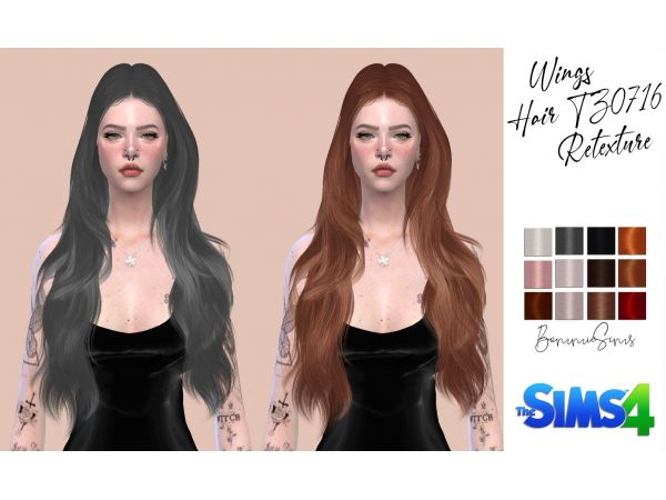Bella Hair Retexture by remaron at TSR » Sims 4 Updates