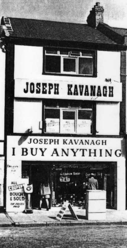 Another old Belfast Shop, previously situated in Smithfield, Belfast. I BUY ANYTHING