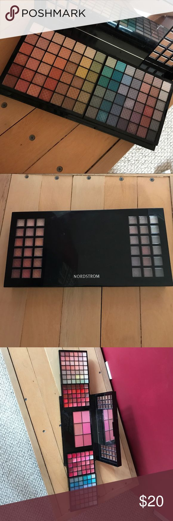 NORDSTROM FULL MAKEUP SET Barely used, just searched a few colors! Nordstrom Makeup Eyeshadow