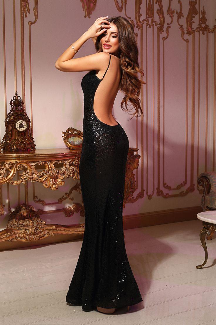 Вечерние шикарные платья в картинках