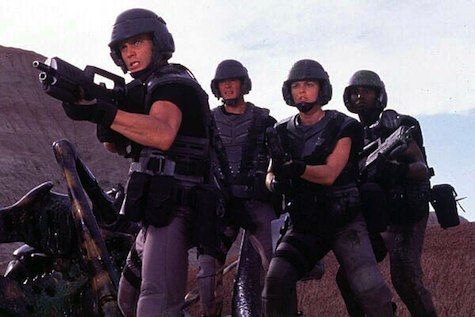 You will watch Starship Troopers, and you will love it.