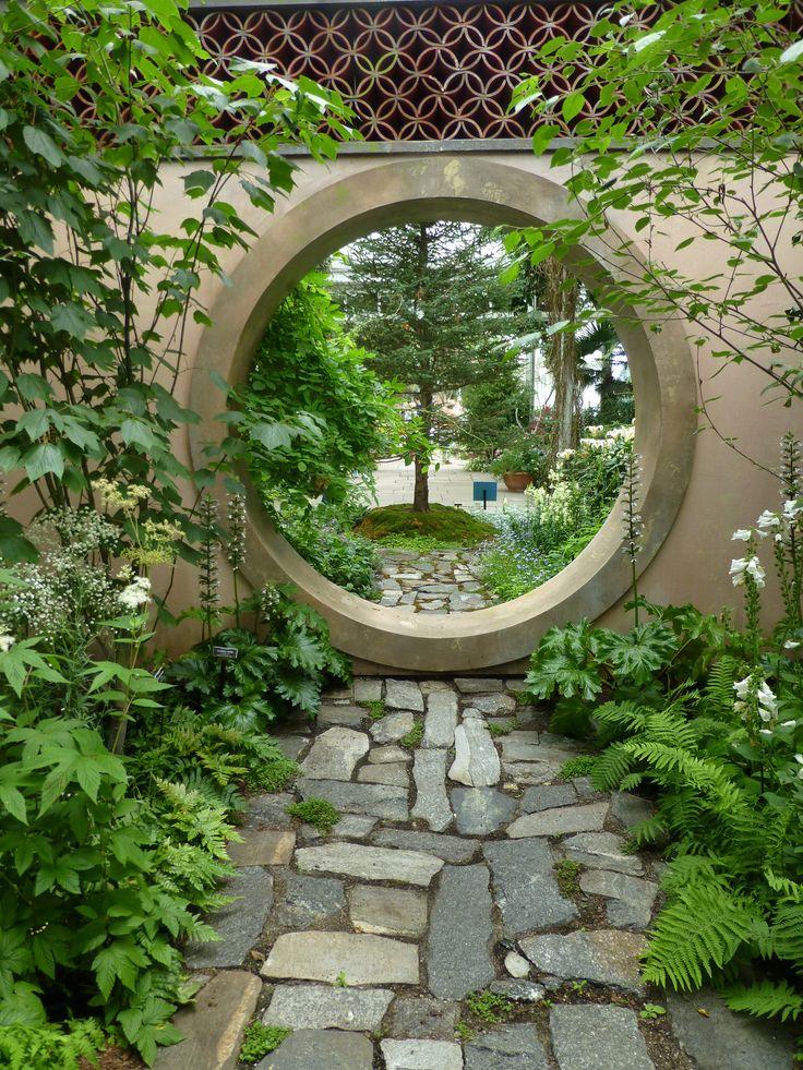 179 Best Garden Moon Gates Images On Pinterest   Moon Gate, Garden Art And  Garden Gates