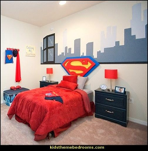 Awesome theme bedrooms. Love these for a boy's bedroom.  Would they be able to grow into it?