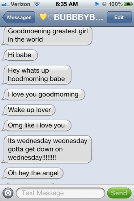 20 best Good Morning texts images on Pinterest