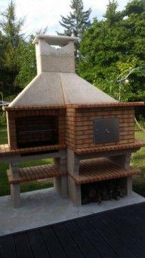 Barbecue en brique réfractaire avec four AV351F images