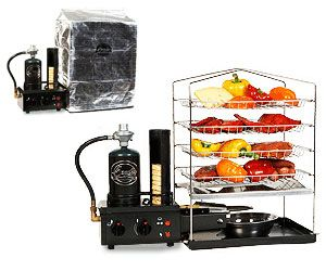 Portable Propane Smoker. Very cool website as well. Lots of neat stuff!