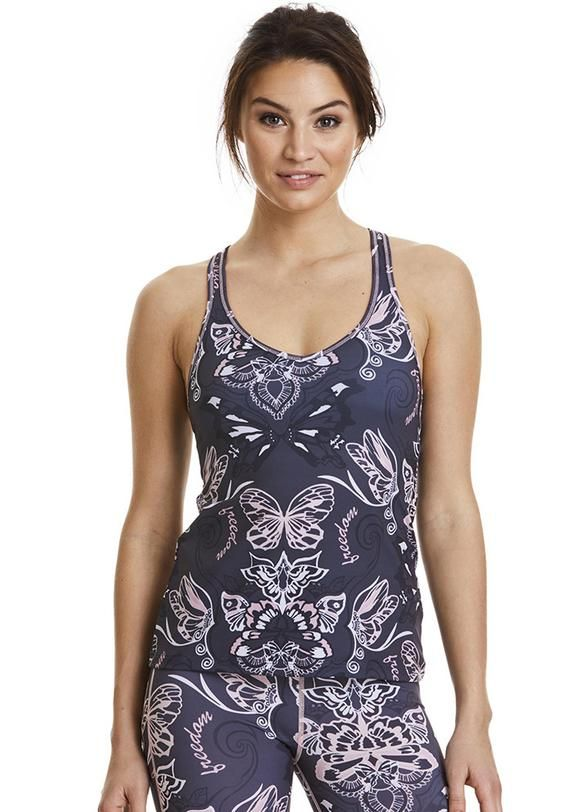 Odd Molly Sportstop 117M-182 Upbeat Tank Top - almost black