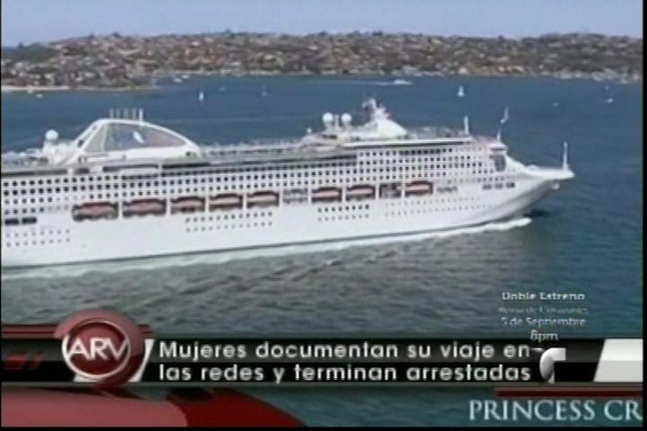 Dos Mujeres En Viaje En Crucero Podrían Terminar En La Cárcel Por Tráfico De Drogas