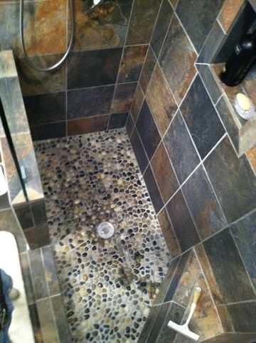 slate shower on pinterest slate bathroom slate shower tile and