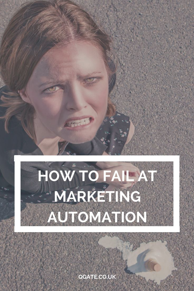 Despite the name, marketing automation is not automatic.  It requires a human touch to set up and maintain it.  We've come up with three reasons why marketing automation programs fail and how you can avoid them. #marketing #marketingautomation #MAP #inbound #sales
