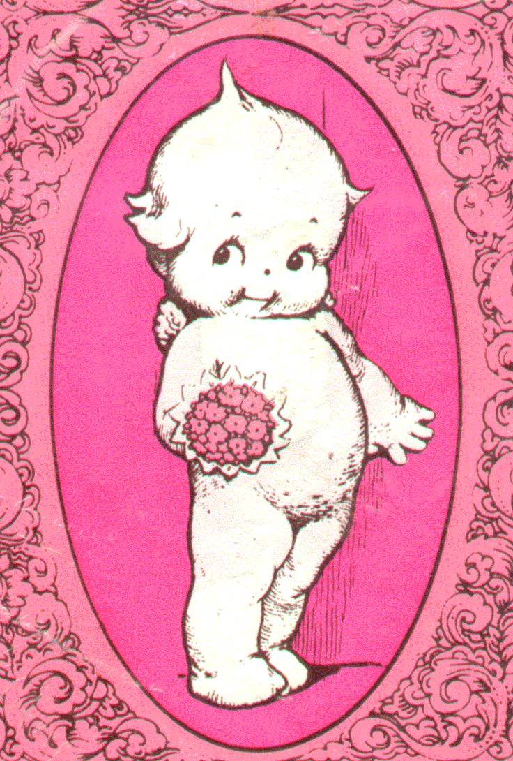 kewpie- I had a kewpie doll when I was little... Two actually. Loved my kewpie.
