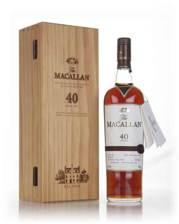 The Macallan 40 Year Old 2016 Release - Master of Malt