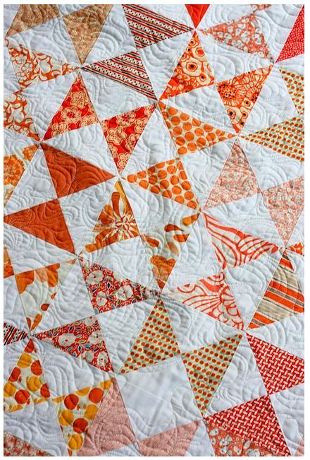 Quilt Patterns Quarter Square Triangles : 17 Best images about Quarter Square Triangle, Hourglass Quilts on Pinterest Vintage quilts ...