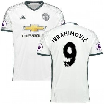 Premier League Fussball Trikots Manchester United 2016-17 Zlatan Ibrahimovic 9 3rd Trikot Kurzarm