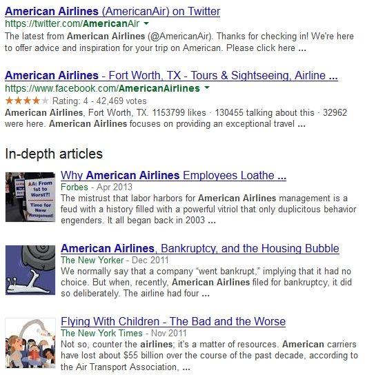 """W angielskiej wersji google.com pojawił się nowy rodzaj wyników wyszukiwania - In-depth articles. Czy """"dogłębne artykuły"""" można wykorzystać w strategii SEO?"""