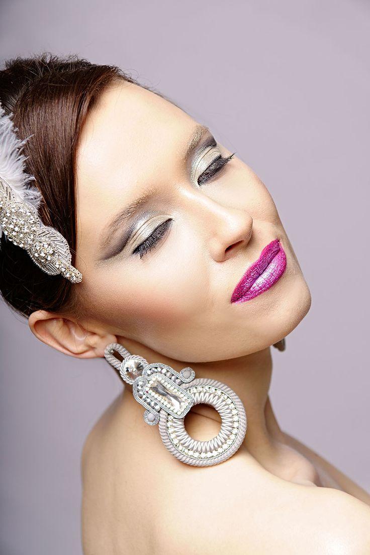 Cyt Crease, weeding makeup, creative weeding makeup, makijaz ślubny artystyczny.