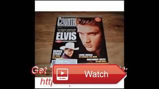Country Music Weekly March Elvis Presley th Anniversary of his death