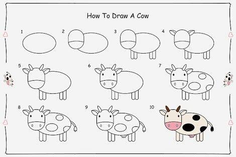 pinmadhuri dixit on kids drawing  cute easy drawings