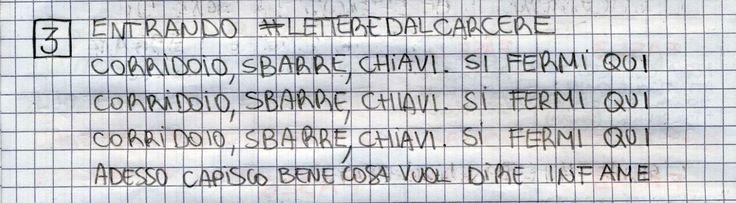 #LETTEREDALCARCERE #PAKKIANO N. 03 - ENTRANDO Lettera scritta dalla cella numero 22 del Penitenziario Santa Bona di Treviso