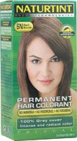 Naturtint Permanent Hair Color 6N Dark Blonde.  Use 2 oz 6N with 2 oz 5G Light Golden Chestnut for a cool, rich blonde