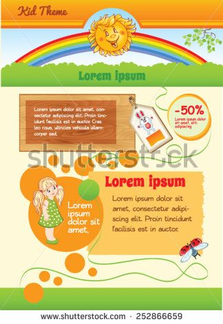 9 best layout livro infantil images on pinterest childrens books cartoon background for kid template fandeluxe Image collections