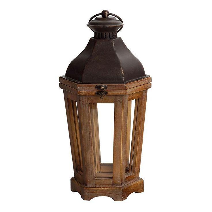 SONOMA Goods for Life™ Large Pillar Candle Holder Lantern, Multicolor