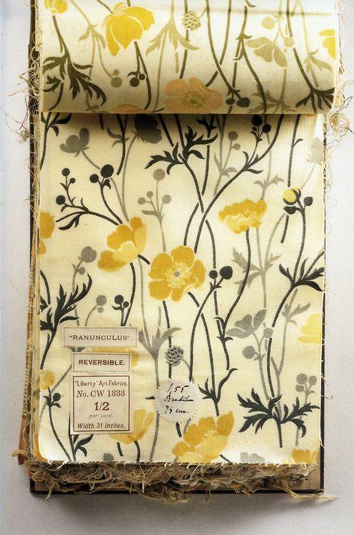 Liberty ~ vintage fabric | Textile prints. Fabric IMPRINTS. Floral