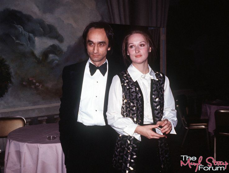 Meryl With John Cazale at the 75th Birthday Party for Lee Strasberg ~ 1976