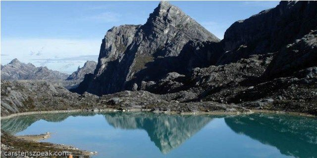 Carstensz Pyramid - Jayawijaya Peak - Heinrich Harrer, famed author of the book Seven Years in Tibet, had always been fascinated by the Jayawijaya Peak in Papua. And so, some 12 years after returning from Tibet in 1950, Heinrich Harrer together with three