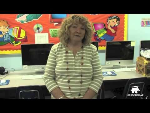 Testimony from a MaxScholar user. MaxScholar at St Jerome School, Ft Lauderdale, Florida