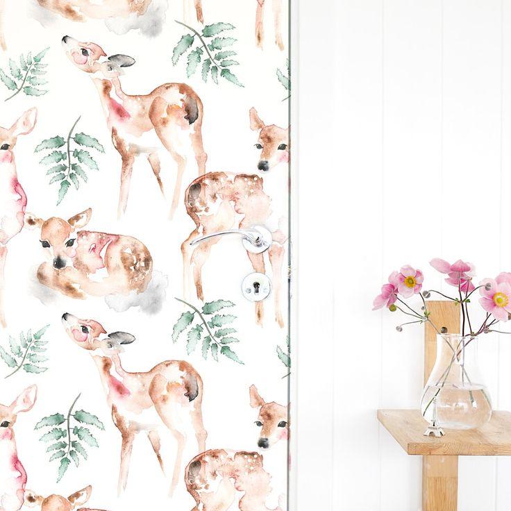 OH DEER wallpaper by Matilda Svensson