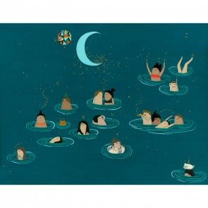Night Swimmers Print