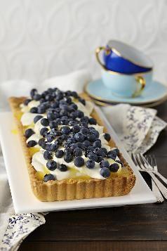 Blueberry Tart - Gluten Free