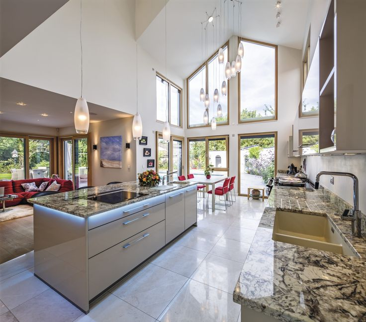 57 best WeberHaus u2013 Küchen images on Pinterest Flat roof, Garten - küche ohne griffe