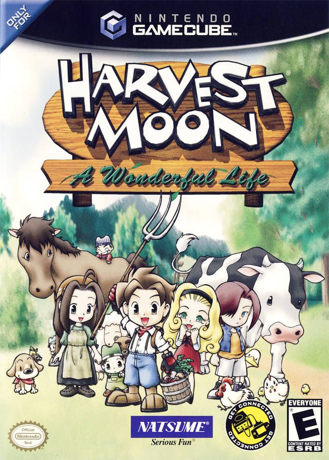 Harvest Moon A Wonderful Life Gamecube Game!  :)