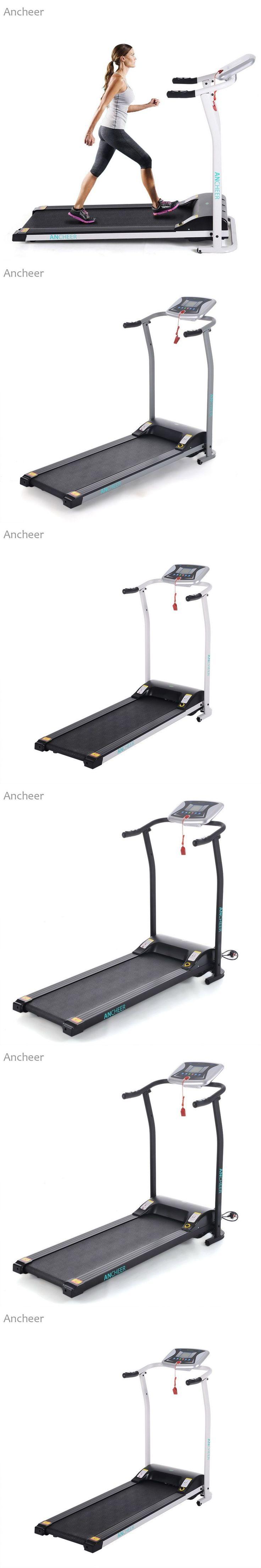 ANCHEER New Electric Treadmill Mini Folding Electric Running Training Fitness Treadmill Home EU US Plug sports fitness #trainingfitness