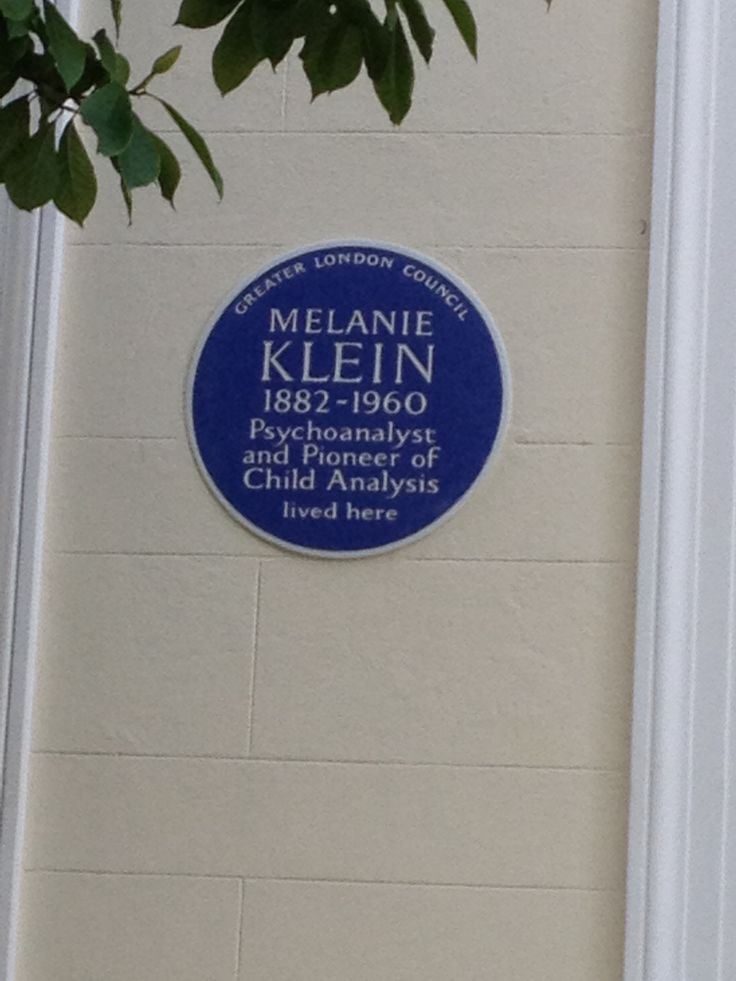 Melanie Klein, Clifton Hill, London, NW8
