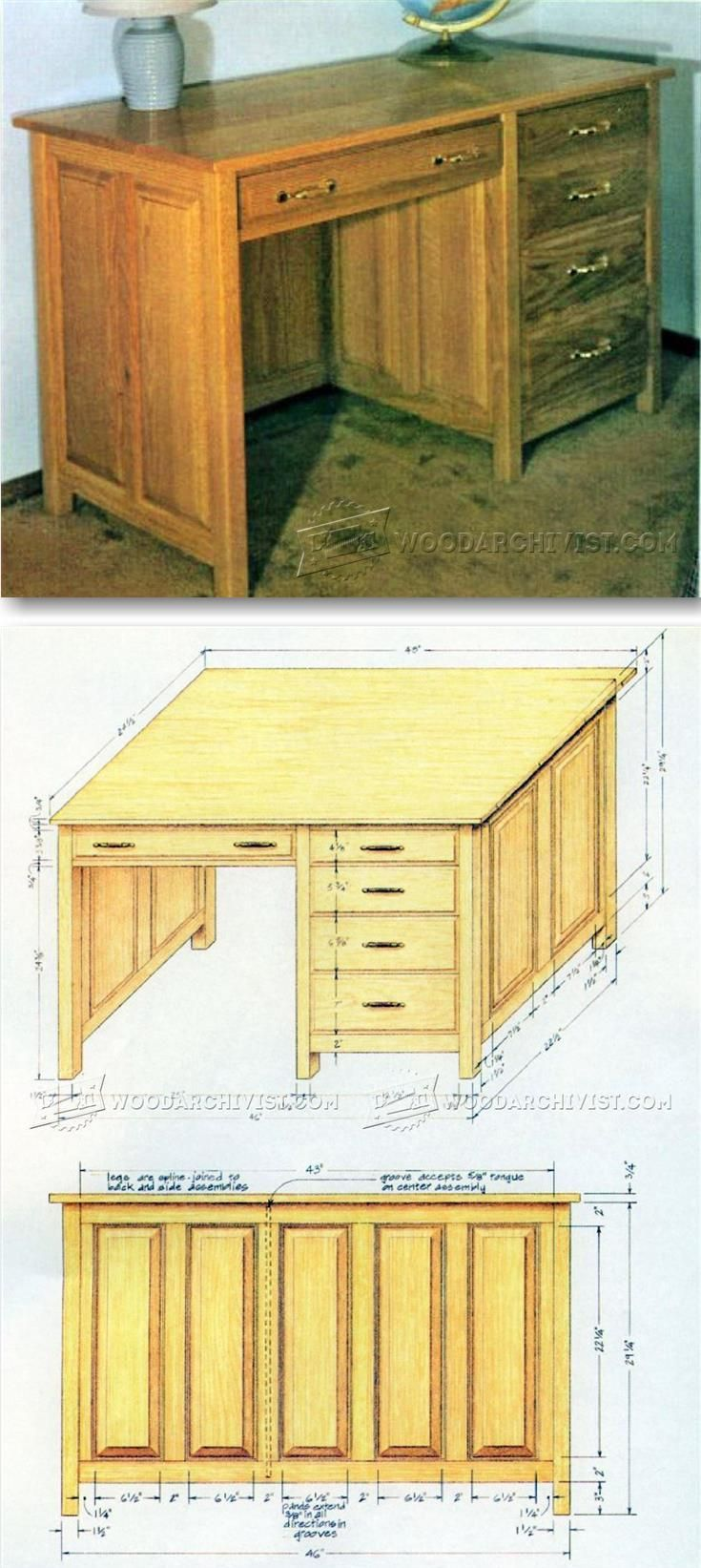 Best 10+ Desk plans ideas on Pinterest | Woodworking desk plans ...