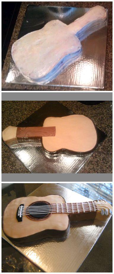 25 Best Ideas About Guitar Cake On Pinterest Guitar