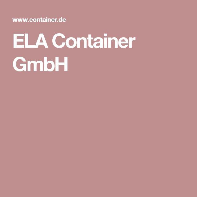 ELA Container GmbH