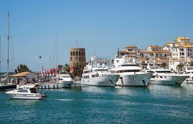 Temperaturer og klima i Marbella